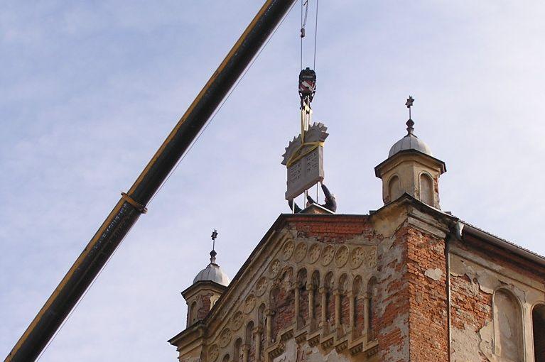Rekonstrukcia synagogy Bytca